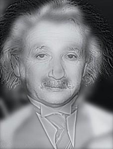 マリリンモンローとアインシュタインの錯視画像